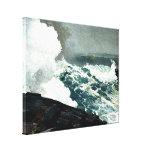 Viento del norte - pintura famosa de Winslow Homer Impresión En Lienzo Estirada