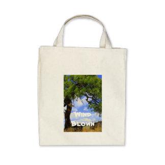 Viento soplado - bolso bolsas de mano