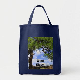 Viento soplado - bolso bolsa lienzo