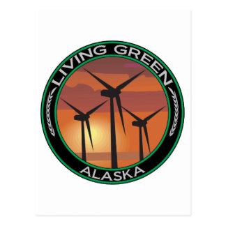 Viento verde Alaska Postal