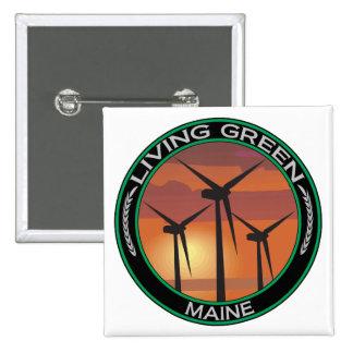 Viento verde Maine Pins