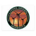 Viento verde Minnesota Postal