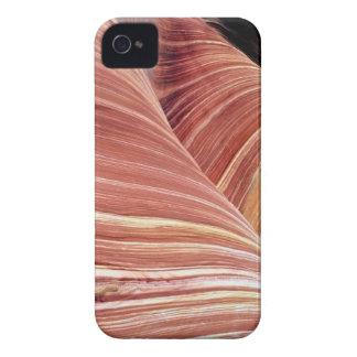 Viento y piedra arenisca erosionada agua de Navajo Funda Para iPhone 4 De Case-Mate