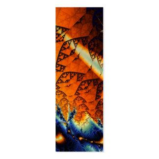 Viento y señal de las mareas plantillas de tarjetas personales