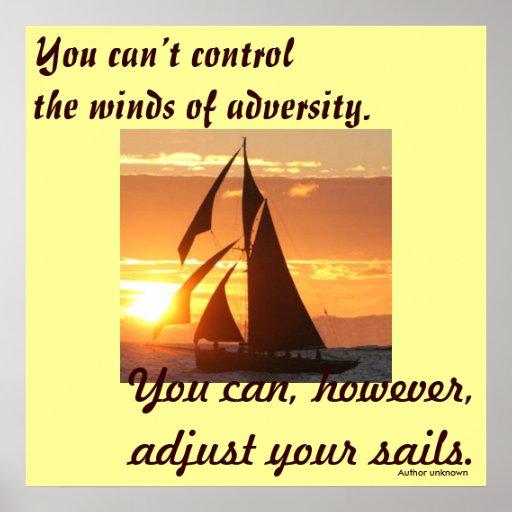 Vientos de la adversidad impresiones