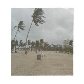 Vientos de la playa del pie Lauderdale fuertes Bloc