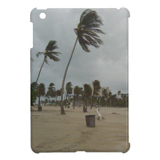 Vientos de la playa del pie Lauderdale fuertes iPad Mini Carcasa
