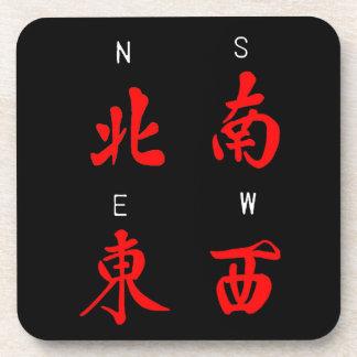 Vientos de Mahjong, juego del honor, (c) del norte Posavaso