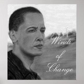 Vientos del cambio póster