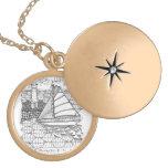 Vientos justos un sueño de los marineros en joyerí medallones