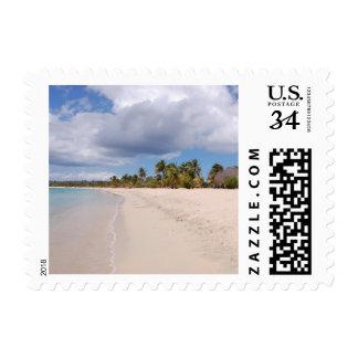 Vieques, Puerto Rico Beach Postage