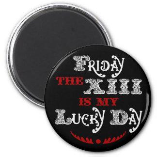 Viernes afortunado el imán negro de la décimoterce