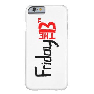 Viernes el décimotercero caso del iPhone 6/6s Funda Barely There iPhone 6