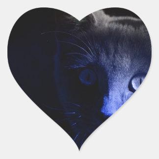 viernes el décimotercero pegatina en forma de corazón