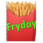 viernes FRYDAY Libros De Apuntes Con Espiral