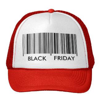 Viernes negro gorras de camionero