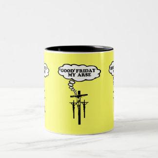 Viernes Santo ofensivo Tazas De Café