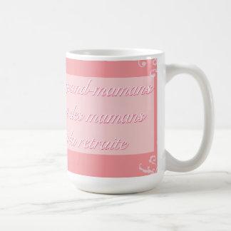 Vierta los les magníficos-mamans tazas