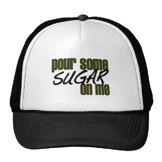Vierta un poco de azúcar en mí gorro