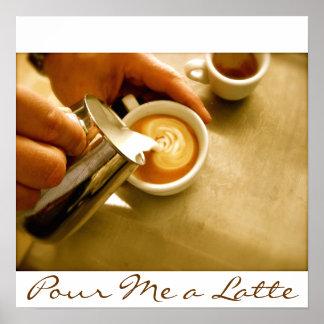 Viértame un Latte - poster