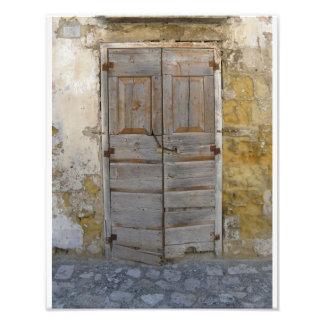 Vieste Door Photo Print