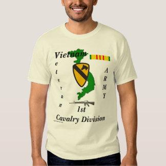 Viet-1st Cav Div-T Camisas