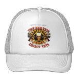 Viet Nam / Legacy Vets MC Support Had Skull Lobo Trucker Hats
