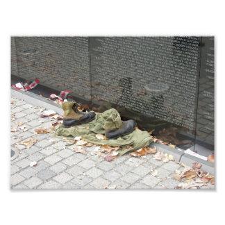 Viet Nam Memorial Wall Photo Print