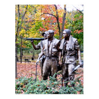 Viet Nam Memorial - Washington D.C. Postcard