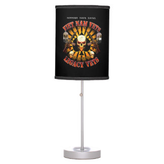 Viet Nam Vets / Legacy Vets MC A Chapter CA Design Table Lamp