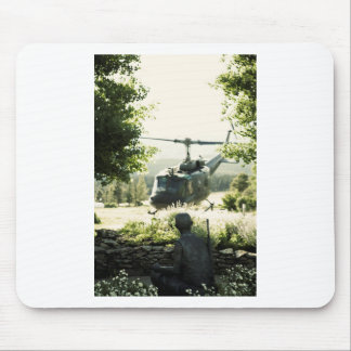 Viet Nam War Memorial New Mexico Mouse Pad