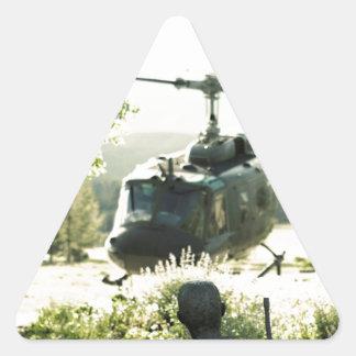 Viet Nam War Memorial New Mexico Triangle Sticker