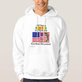 Viet Wounded H W 3 Hoodie