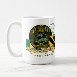 Vietnam-1st Cavalry Div (Air Cav) Classic White Coffee Mug