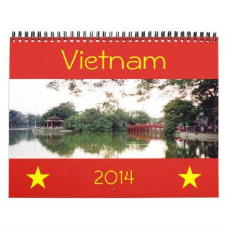 vietnam 2014 wall calendars