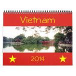 Vietnam 2014 calendarios de pared