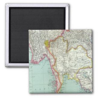 Vietnam 2 Inch Square Magnet