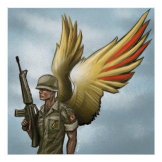 Vietnam aerotransportado para siempre posters