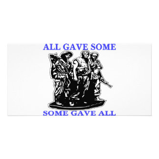 Vietnam All Gave Some & Some Gave All Card