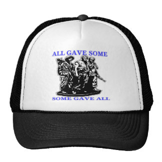 Vietnam All Gave Some & Some Gave All Trucker Hats