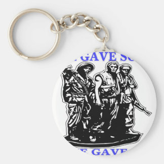 Vietnam All Gave Some & Some Gave All Keychain