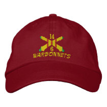 Vietnam Artillery Crossed Cannon Embroidered Hat