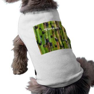 Vietnam Bamboo Pet T Shirt