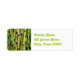 Vietnam Bamboo Custom Return Address Label