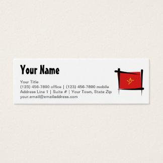 Vietnam Brush Flag Mini Business Card