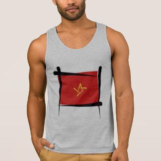 Vietnam Brush Flag Tank Top