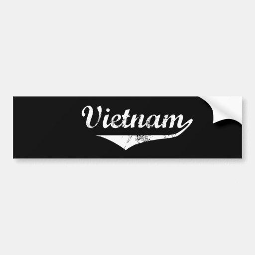 Vietnam Bumper Sticker