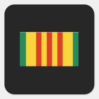 Vietnam Calcomanía Cuadradas Personalizadas