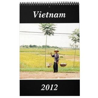 vietnam calendar 2012