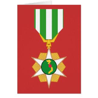 Vietnam Campaign Medal Card
